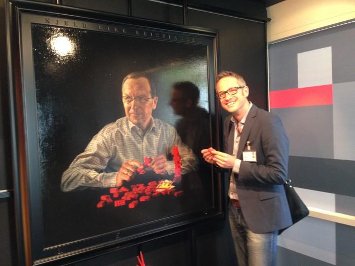 Der Gründer von LEGO