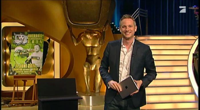 iPad Zauberer für Köln beim Auftritt bei TV total