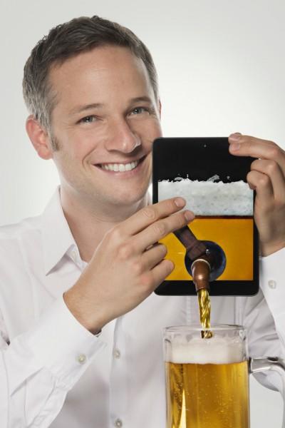 iPad Zauberer für München - Bier