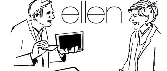 Simon Pierro bei Ellen deGeneres