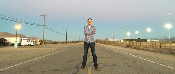 Simon Pierro auf der Route 66