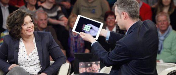 iPad-Zauber-Show bei Markus Lanz im Fernsehen