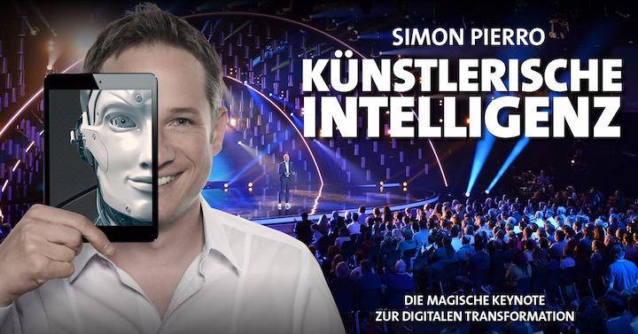 Künstlerische Intelligenz mit Speaker Simon Pierro